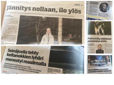 Ilkka-Pohjalaisen ja Eparin kulttuurialan juttuja 13.-15.4.2021.